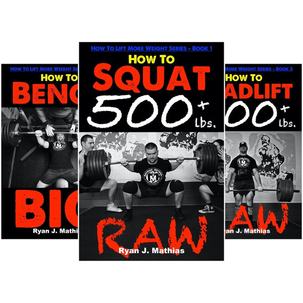 Squat + Bench Press + Deadlift Programs - DISCOUNT PACK - STRENGTH WORLD