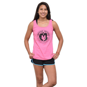 Women's Pink Tank Top for Breast Cancer Awareness Month - STRENGTH WORLD