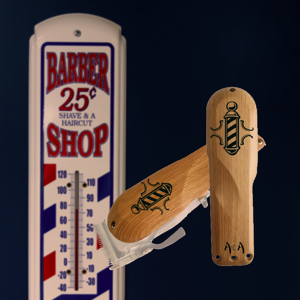 Barber Pole Clipper Cover