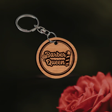 Barber Queen Key Chain