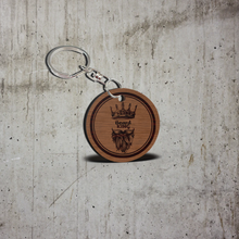 Beard King Keychain