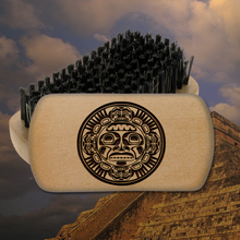 Ancient Mayan Head Brush(ing)
