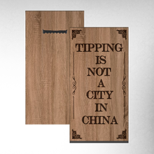 Tipping Shop Sign