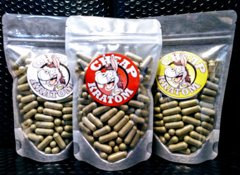 Cheap Ass Kratom Capsules