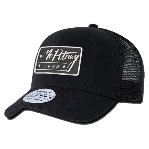 Mo Pitney - Black Patch Hat