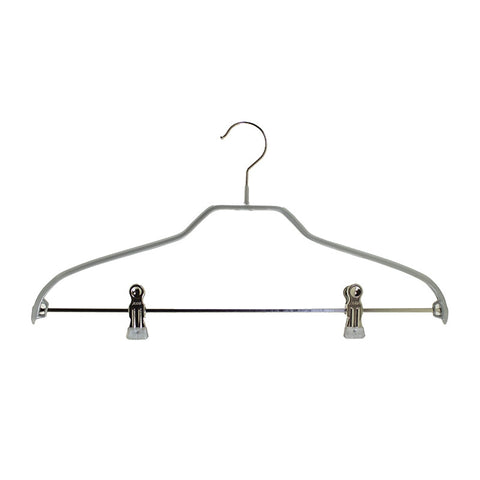 Silhouette Shirt/Jacket Hanger with Clips