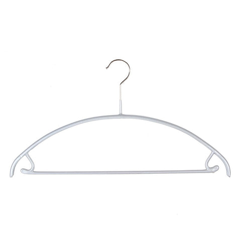 EuroCurve Non-Slip Hanger with Pant Bar/Skirt Hooks