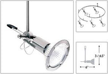 Alpha Satin Nickel Star Cable Lighting Kit