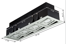 LED BETA STUDIO Recessed Light Unit (4x1)