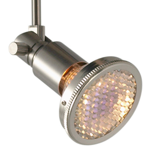 Theta Satin Nickel Flex II Track Light Fixture