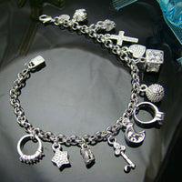 13 Charms Armband - Swiss Happy Panda
