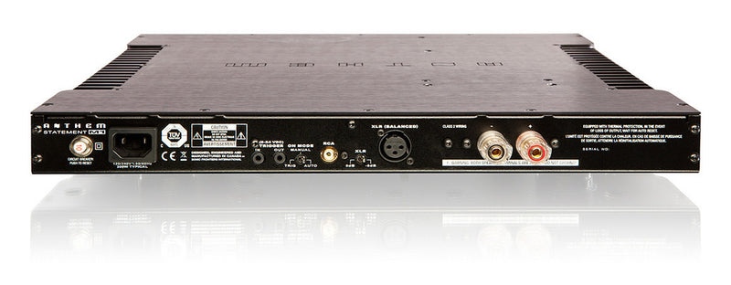 Anthem 1 Channel Power Amplifier M1