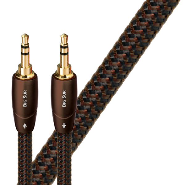 AudioQuest 3.5mm-3.5mm Interconnects Big Sur Series