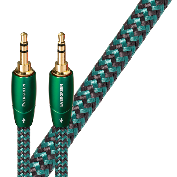 AudioQuest 3.5mm-3.5mm Interconnects Evergreen Series