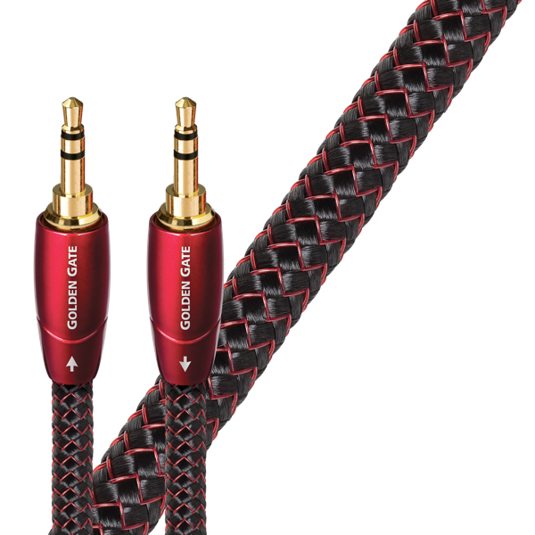 AudioQuest 3.5mm-3.5mm Interconnects Golden Gate Series