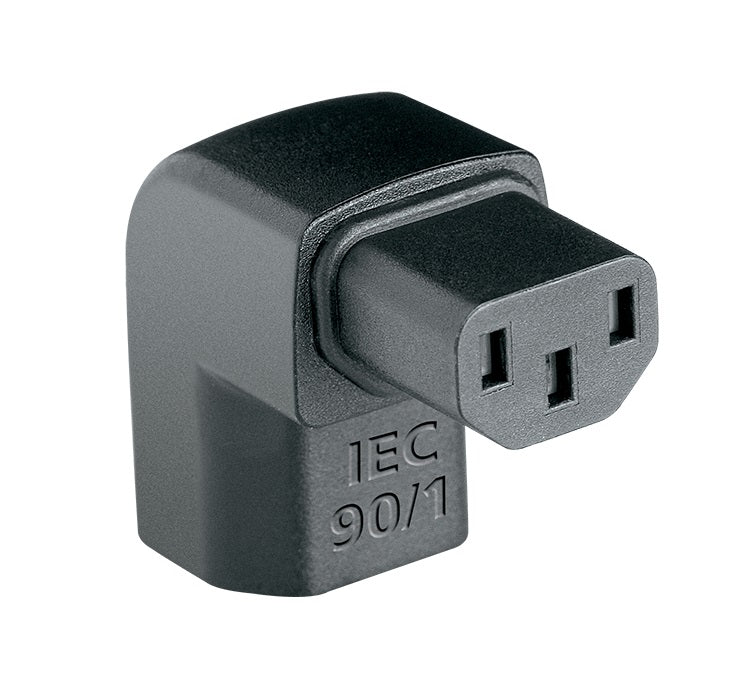 AudioQuest IEC90˚/1 AC Power Cable Adapter