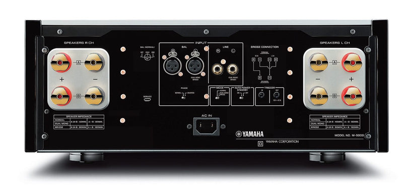 Yamaha M-5000 Stereo Power Amplifier