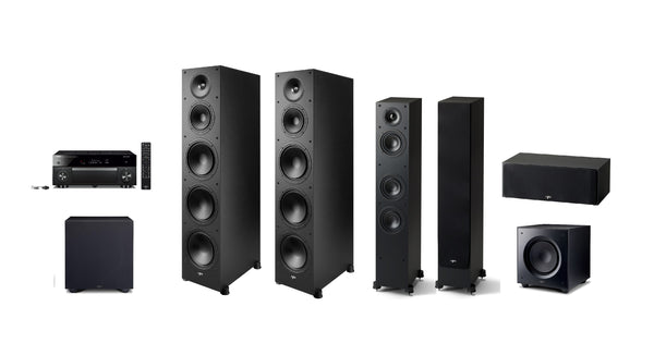 Yamaha & Paradigm BIG 5.2 Theatre system