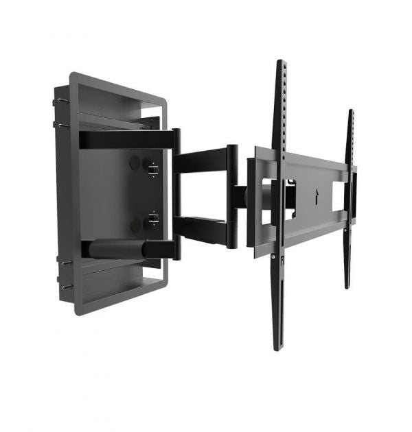 Kanto R500 Full Motion Recessed TV Wall Mount