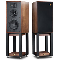 Wharfedale Linton 85th Anniversary Bookshelf Speakers & Stands - Pair