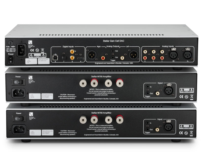 PS Audio Stellar Gain Cell Preamplifier & M700 Amplifiers Package