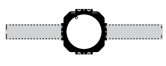 Focal Pre Construction Bracket For 100ICW8 In Ceiling Speaker