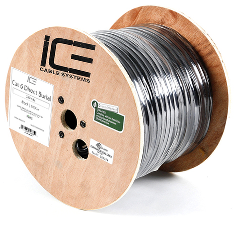 ICE Cable Direct Burial Cat 6 Cable