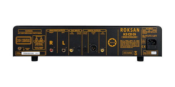 Roksan K3 CD Di CD Player & DAC