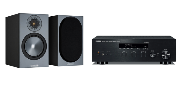 Yamaha & Monitor Audio Streaming HiFi System