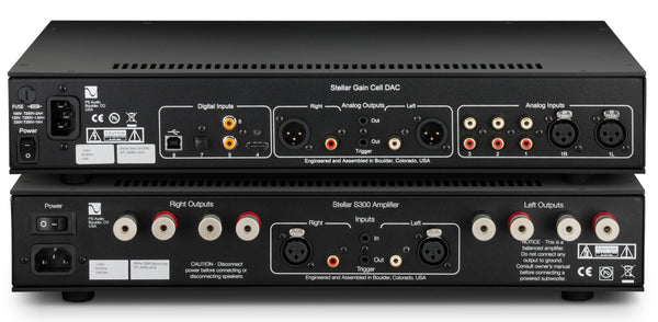 PS Audio Stellar Gain Cell DAC/Preamplifier & S300 Amplifier Package
