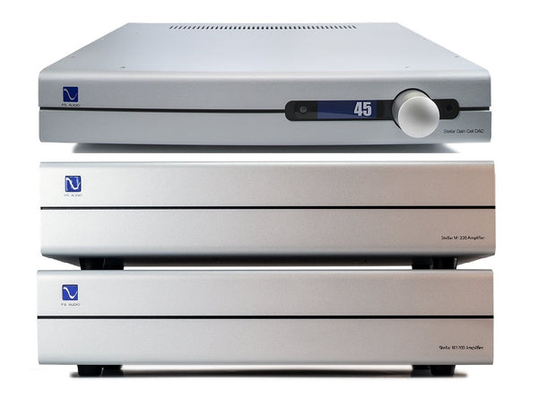 PS Audio Stellar Gain Cell Preamplifier & M1200 Amplifiers Package