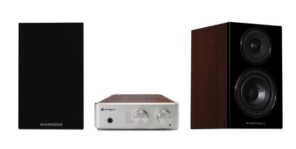 PS Audio & Wharfedale Compact Stereo System