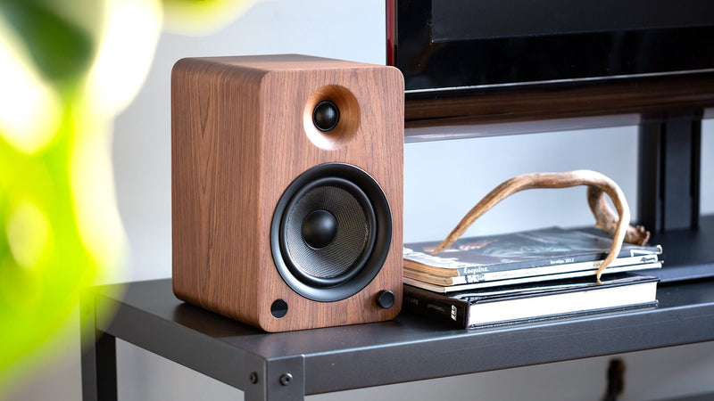 Kanto YU6 Powered Bluetooth Bookshelf Speakers