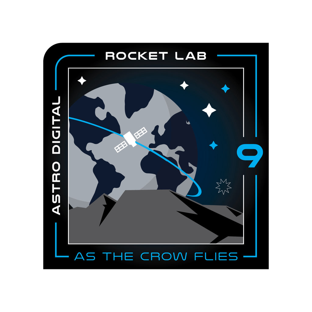 Mission Patch - As the Crow Flies