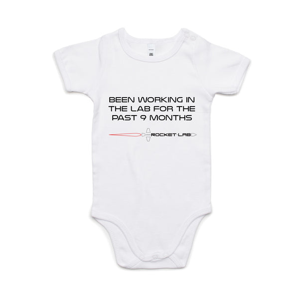 Infant Scientist One-Piece - White