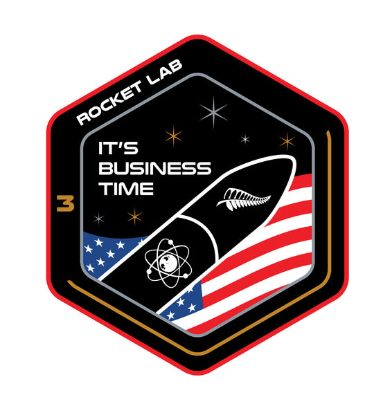 Mission Patch - It's Business Time