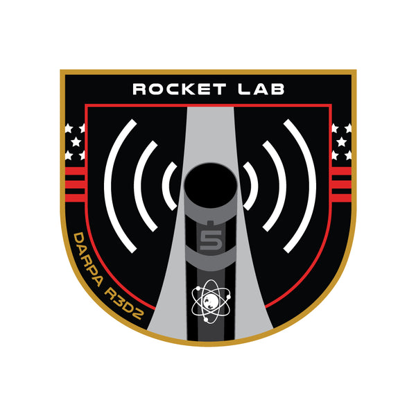 Mission Patch - DARPA: R3D2