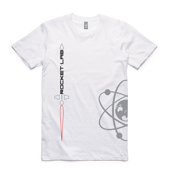 Men's Rocket Lab Logo T-Shirt - White
