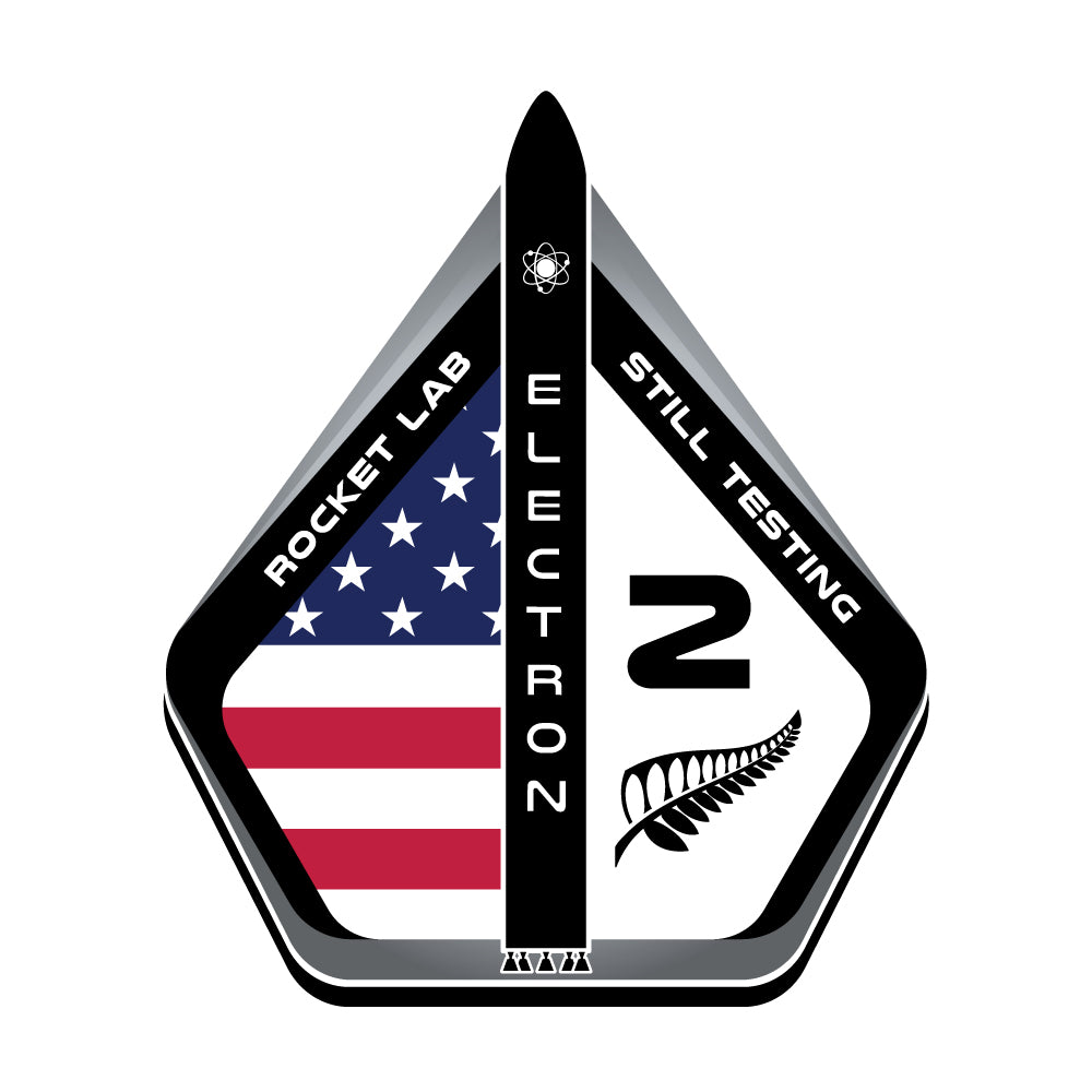 Mission Patch - Still Testing