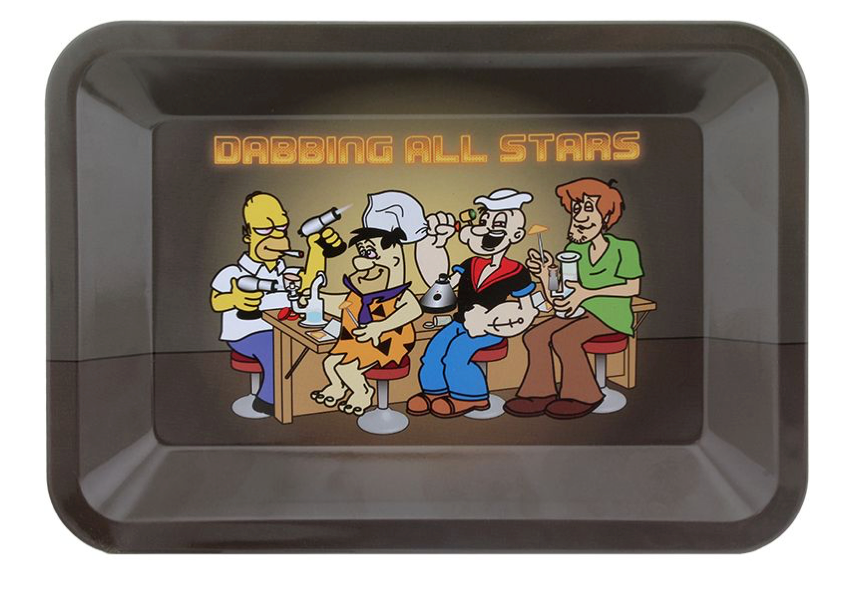 Dabbing All Star Rolling Tray