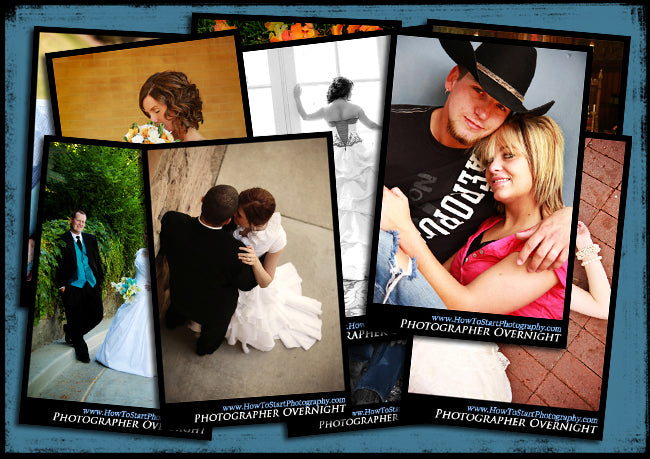 650 px posing card collage