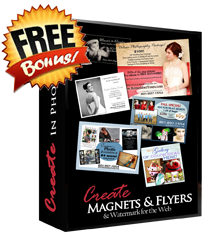 FREE With Purchase - Create Flyers & Watermark for Web