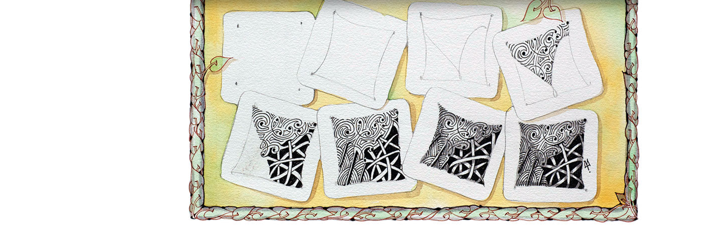 Get Started Zentangle Extraordinary Zentangle Patterns Step By Step