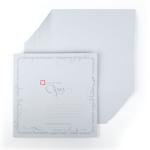 Opus Gray Paper Tiles - 5 - Limited Edition