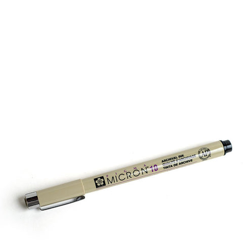 Sakura Pigma Micron® 10 Black Pen - (0.60 mm)