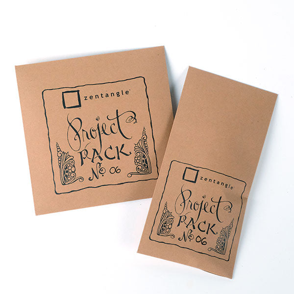 "Zentangle Project Pack No. 06 -""No Mistakes"" Mini Journal"