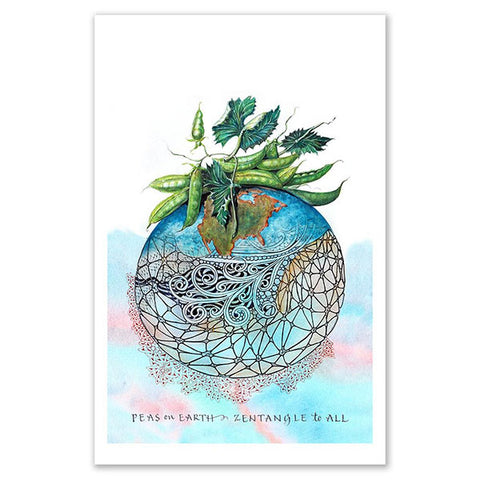 Peas On Earth Print