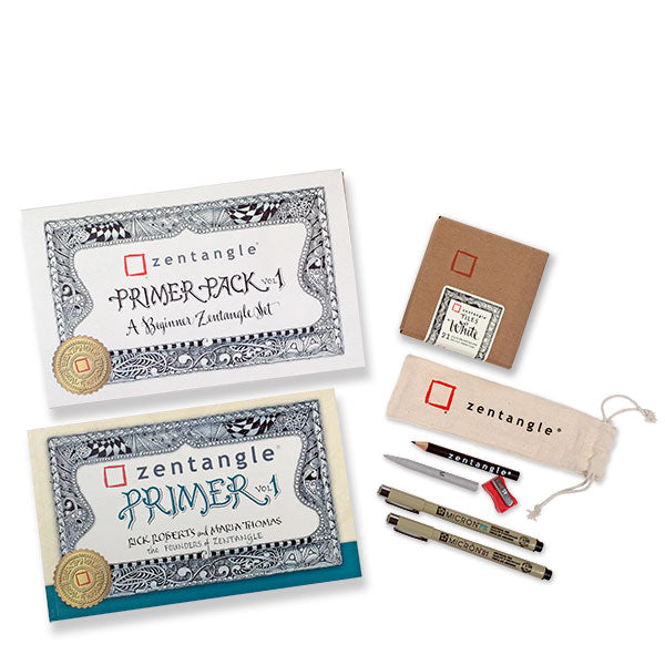 Zentangle Primer Pack Vol 1 - Beginner Zentangle Set