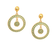 Cielo Earring with Enamel