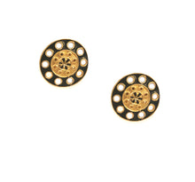 DeSoleil Clip Earring with Enamel